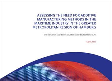 Studie zur Bedarfsermittlung von additiven Fertigungsmethoden auf Englisch